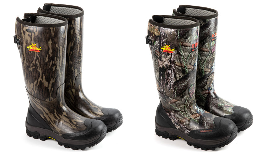 Thorogood Infinity FD Rubber Boots camo