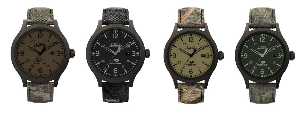 Timex Mossy Oak watches