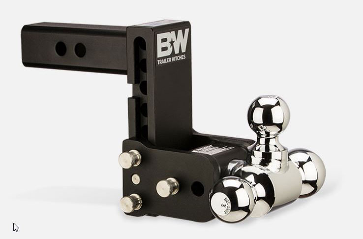B&W Trailer Hitches Tow & Stow Ball Mount
