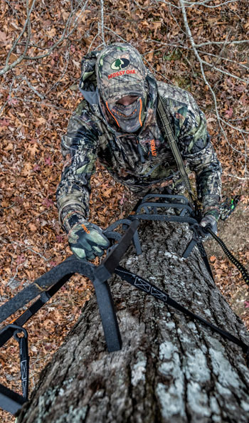 Experienced Hunters Cannot Overlook Tree Stand Safety Mossy Oak