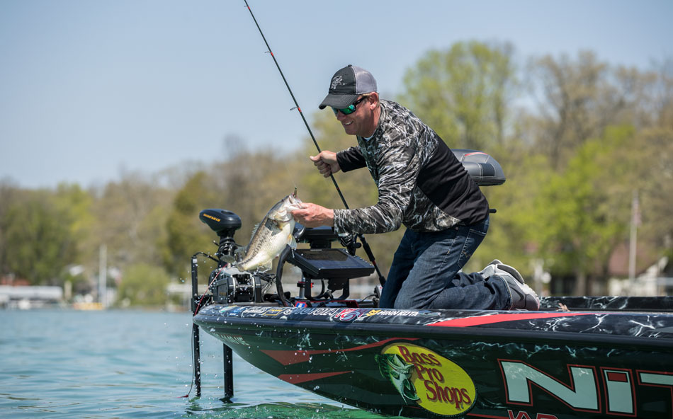 Kevin VanDam bass fishing tips