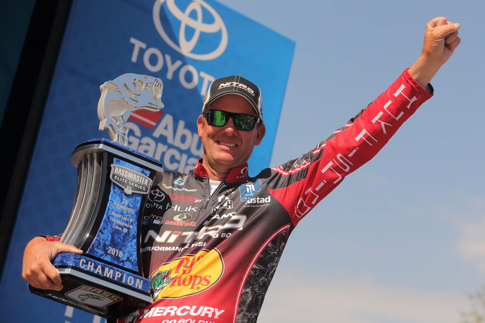 Kevin VanDam tournament win