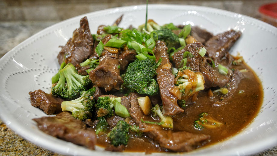 venison and broccoli recipe