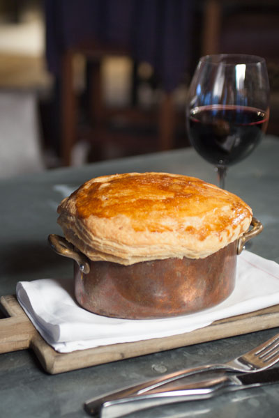 wild turkey pot pie
