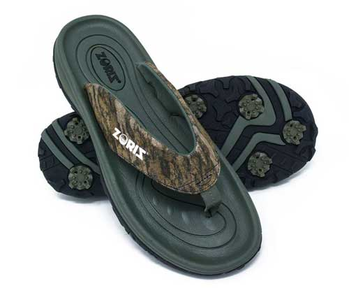 zoriz golf sandals mossy oak