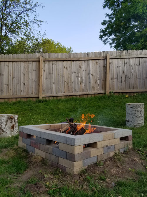 Everything You Need To Know About Building A Backyard Fire