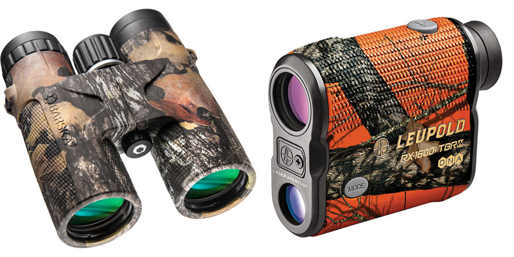 binoculars and rangefinder mossy oak
