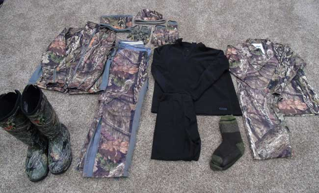 cold weather hunting apparel