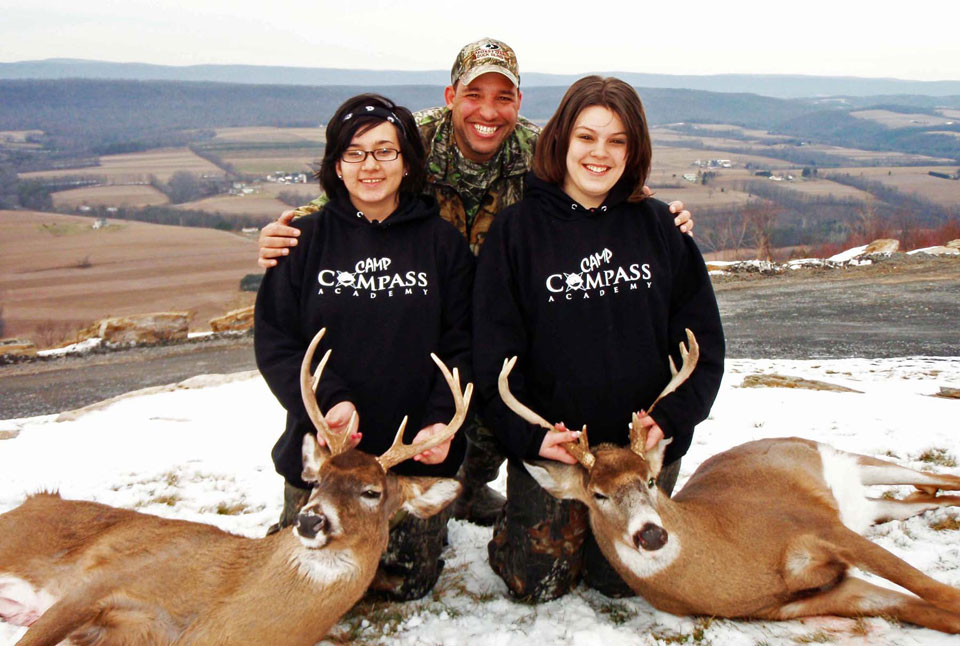 John Annoni Camp Compass deer hunt