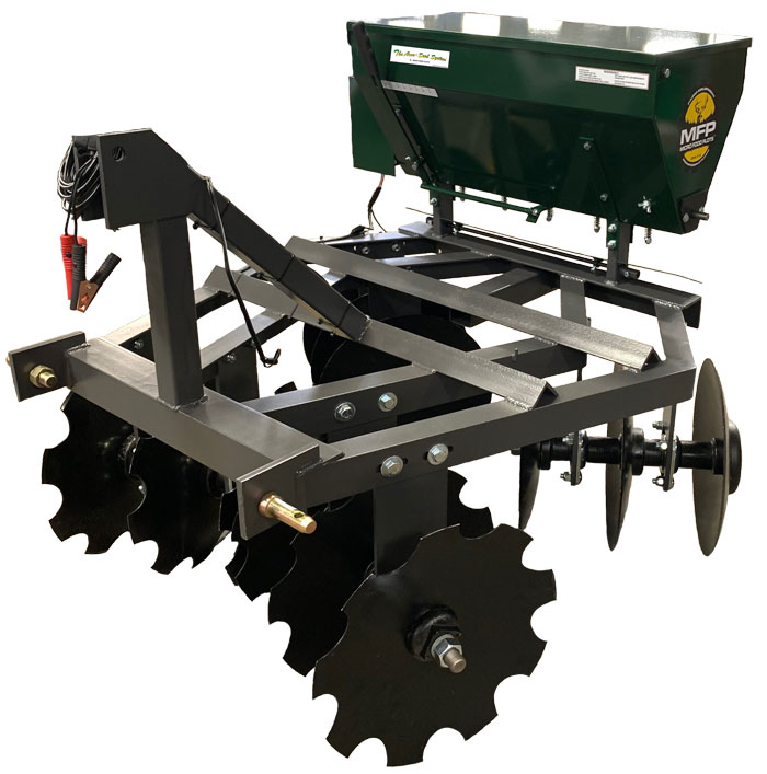 disc seeder combo 4 feet