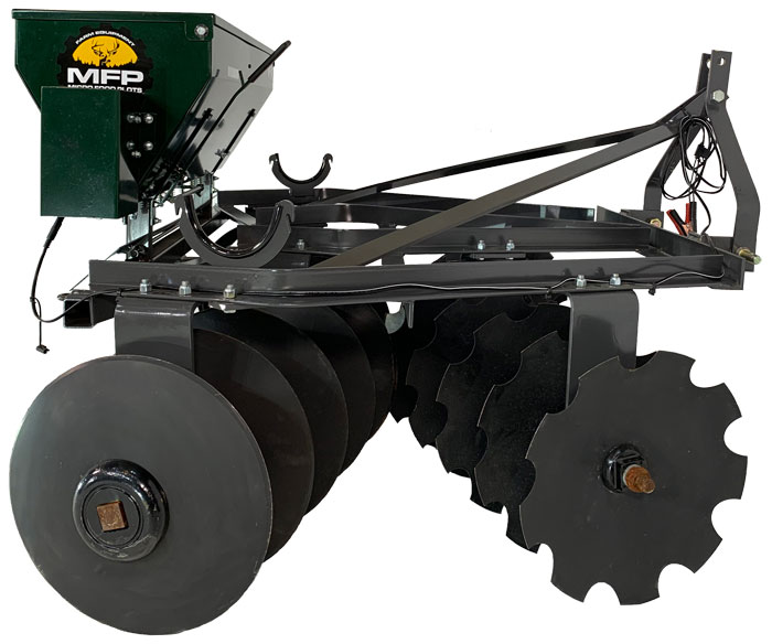 Disc seeder combo 6 feet