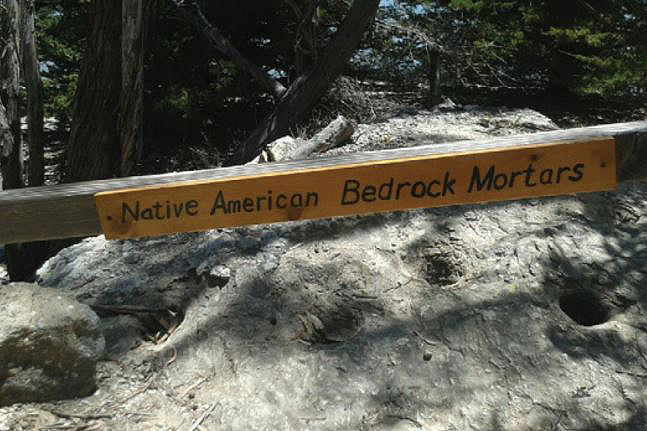 Native American bedrock mortars