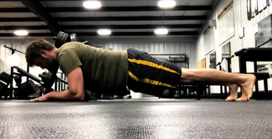 plank core strength