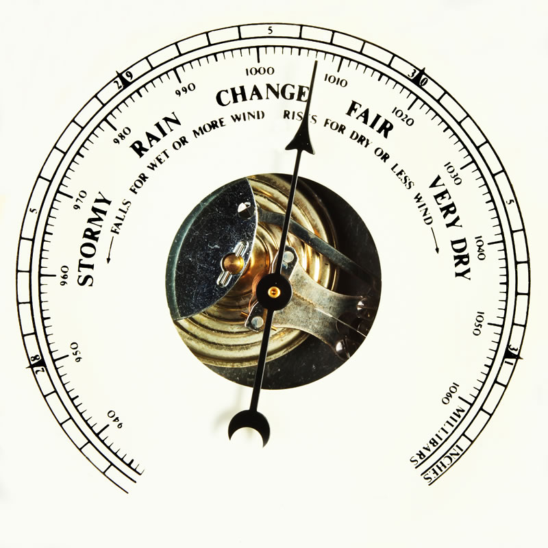 afe10a58673 The key to using the barometric pressure to your advantage is to anticipate  when the weather