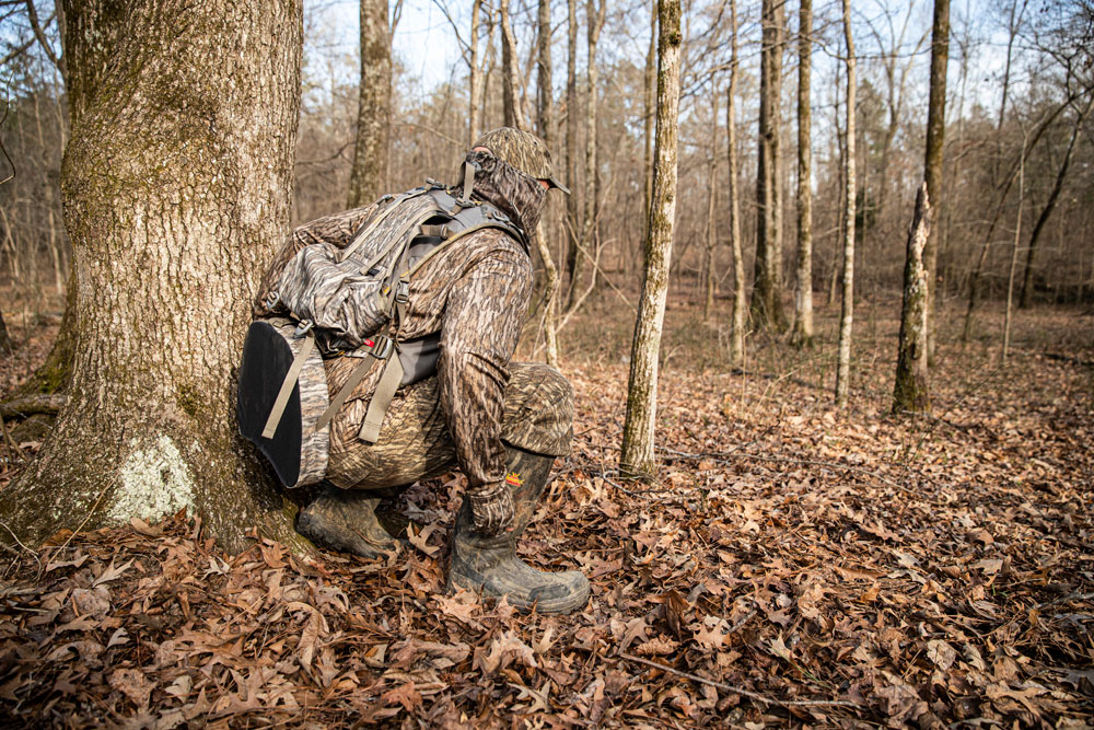 turkey hunter bottomland