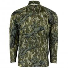 Mossy Oak Men's Camo Hunt Tech Long Sleeve 1/4 Zip