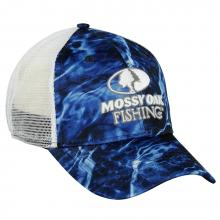 Mossy Oak Elements Fishing Logo Cap