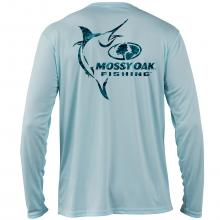 Mossy Oak Fishing Elements Logo Long Sleeve Shirt