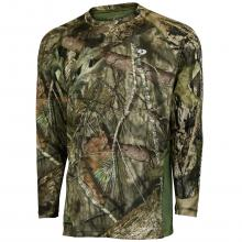 Mossy Oak Men's Long Sleeve Vented Hunt Tee