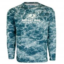 Mossy Oak Elements Long Sleeve Logo Tech Tee
